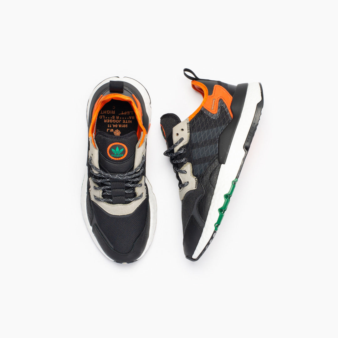 Adidas Nite Jogger 'Cordura' (Core Black/Grey Six/Orange) - Adidas Nite Jogger 'Cordura' (Core Black/Grey Six/Orange) -