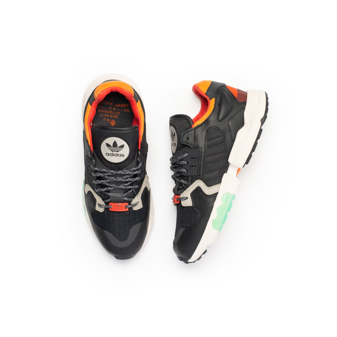 Adidas ZX Torsion (Black/Orange/Green) - Adidas ZX Torsion (Black/Orange/Green) -