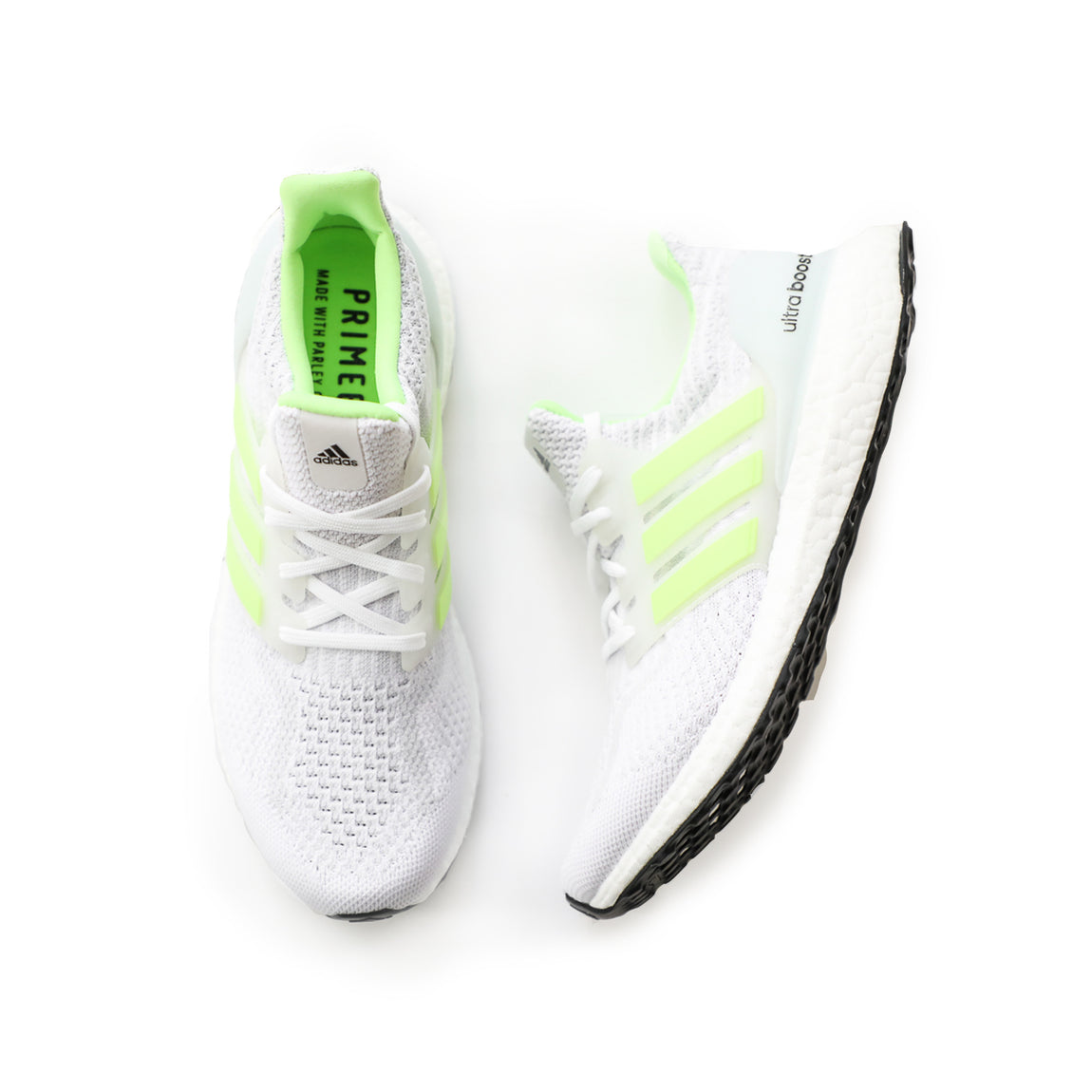 Adidas UltraBoost 5.0 DNA (Cloud White/Signal Green/Dash Grey) - Adidas UltraBoost 5.0 DNA (Cloud White/Signal Green/Dash Grey) -