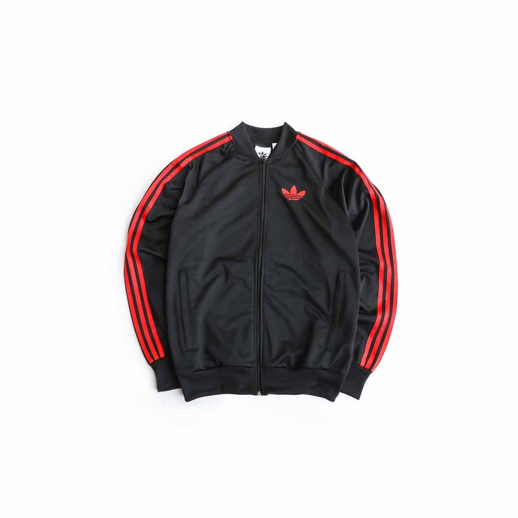 Adidas Originals SST OG Track Jacket (Black/Red)