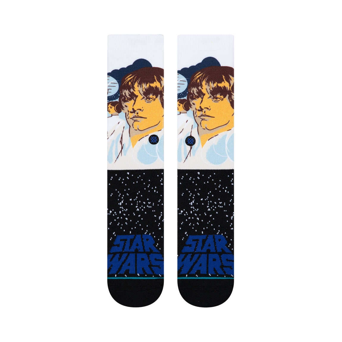 Stance Star Wars 'Luke' Socks (Blue) - Stance Star Wars 'Luke' Socks (Blue) -