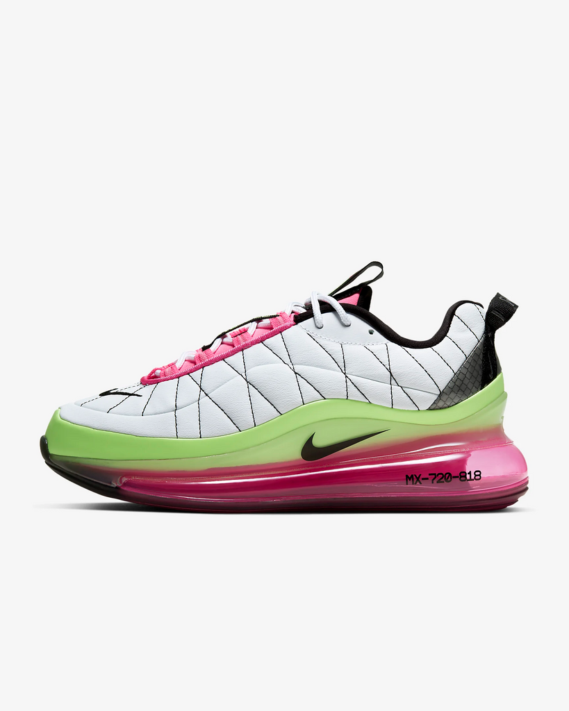 Nike Women's MX-720-818 (White/Pink Blast/Ghost Green)
