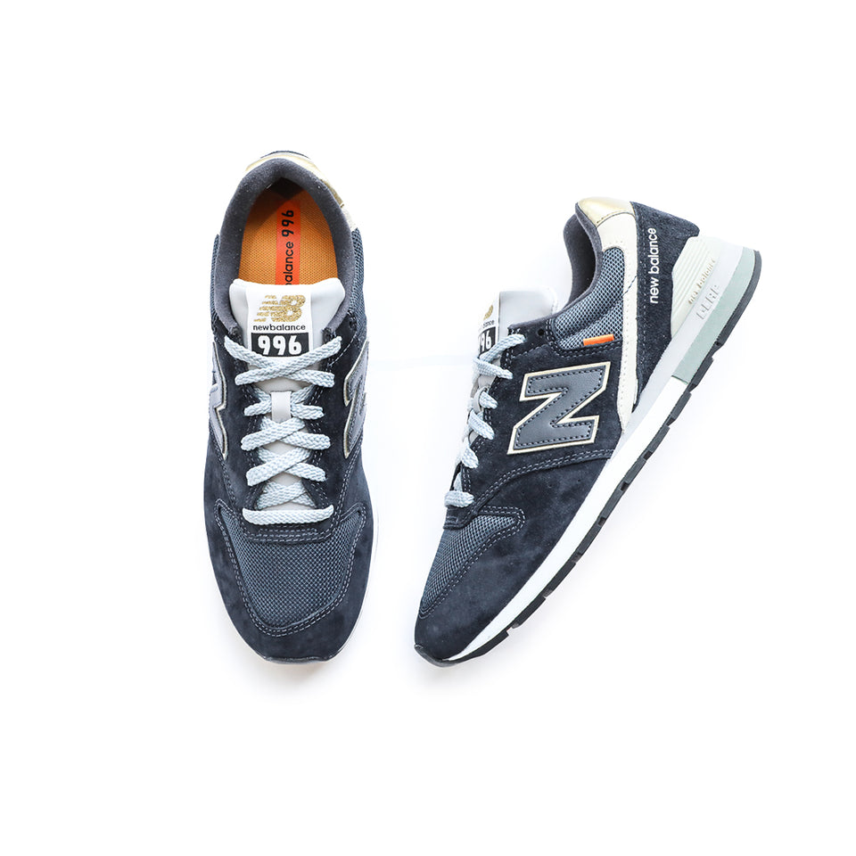 New Balance 996 (Outerspace Blue/Gold) - New Balance