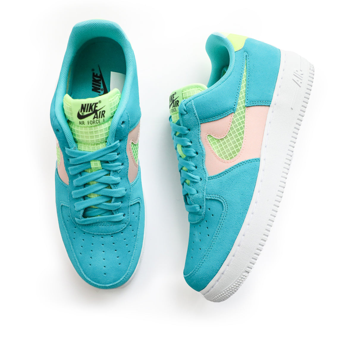 Nike Air Force 1 '07 (Oracle Aqua/Ghost Green) - Nike Air Force 1 '07 (Oracle Aqua/Ghost Green) -