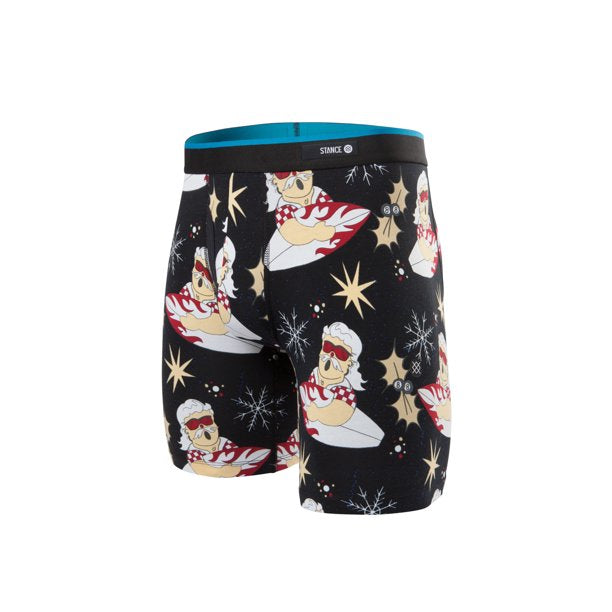 Stance Surfin Santa Boxer Brief (Black)