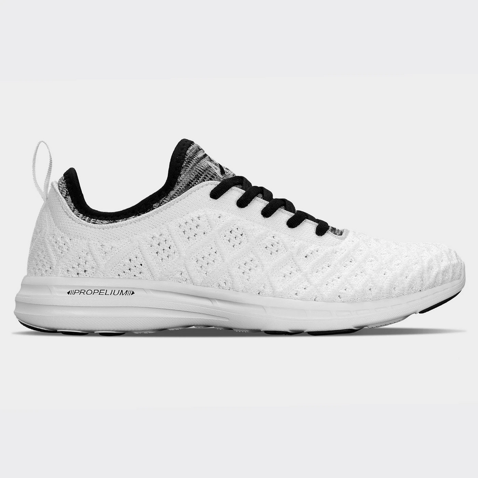 APL Women's Techloom Phantom (White/Black/White Melange) - APL