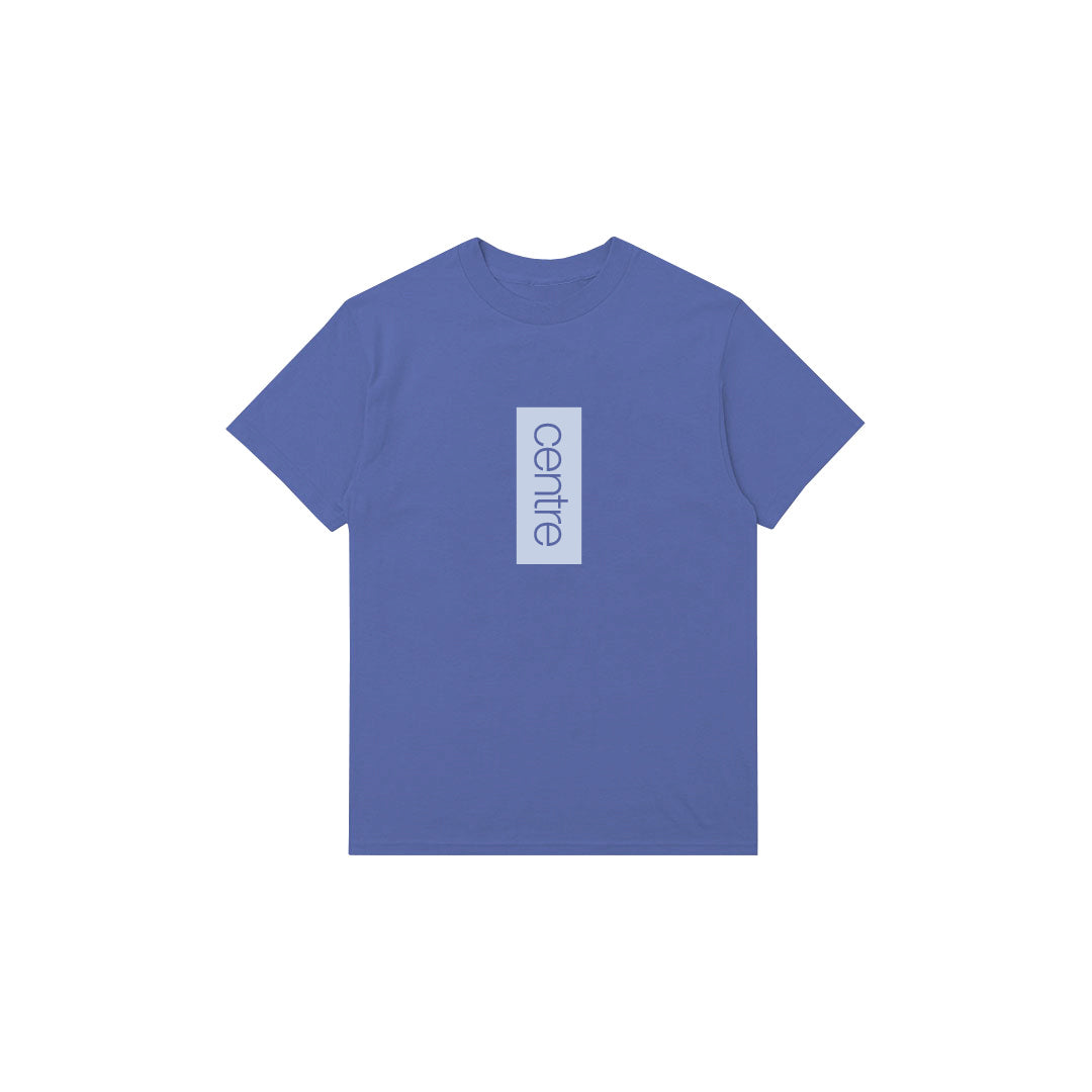 Centre Vertical Tee (Mystic Blue) - Centre Vertical Tee (Mystic Blue) -