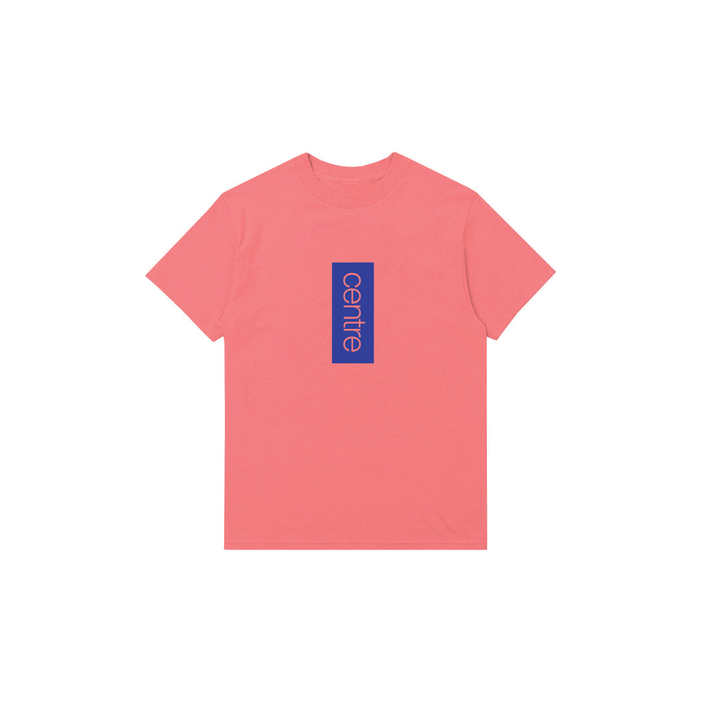 Centre Vertical Tee (Salmon)