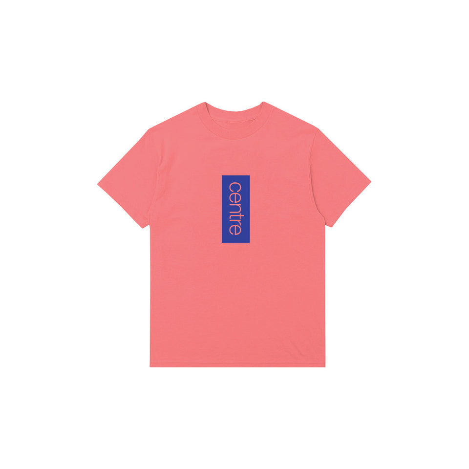 Centre Vertical Tee (Salmon) - Centre - Tees & Tanks