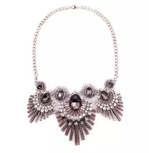 Robin Tribal statement necklace - ebrook lael