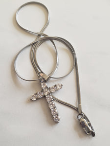 Diamond Cross Pendant ONLY (TF) - ebrook lael