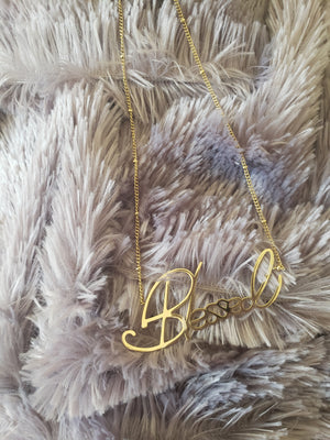 Blessed Necklace (TF) - ebrook lael