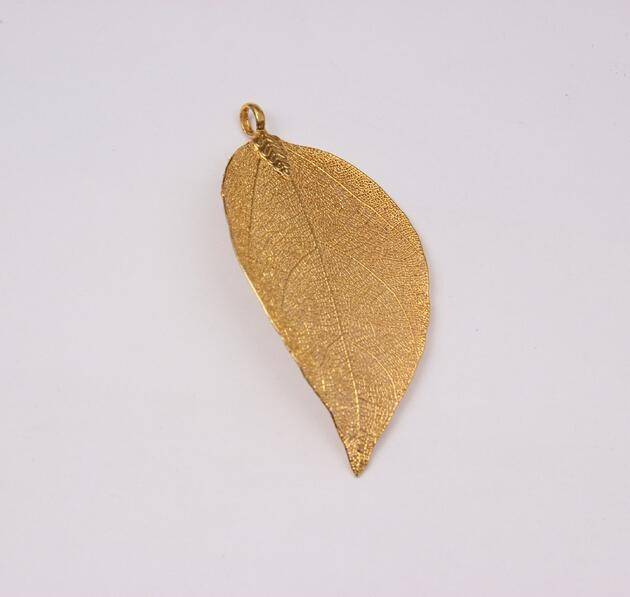 TEXTURE LEAF Necklace (TF) - ebrook lael
