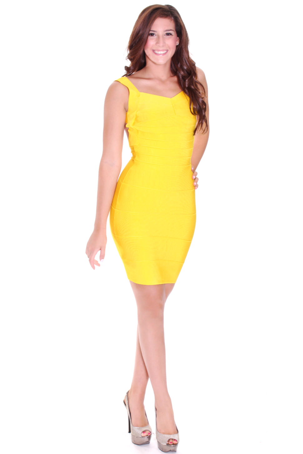 Rhonda backless bandage dress - ebrook lael
