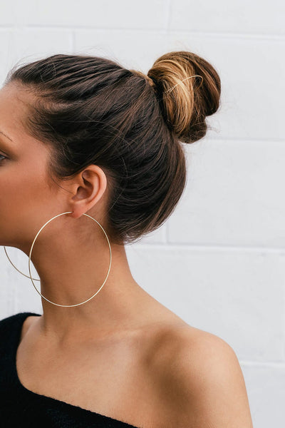 X-Large Gold hoops (TF) - ebrook lael