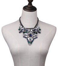 Load image into Gallery viewer, ABELLA Cluster  statement necklace (N-TF) - ebrook lael