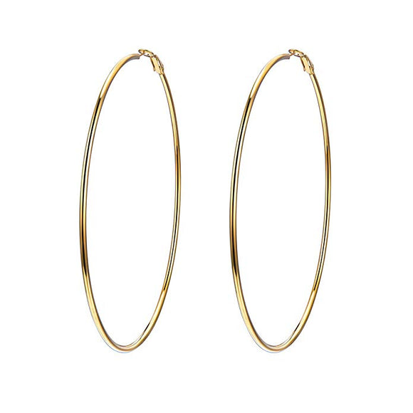 Large Gold hoops (TF) - ebrook lael