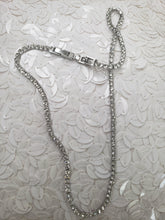 Load image into Gallery viewer, 1 Row Silver CZ Tennis Chain (TF) - ebrook lael