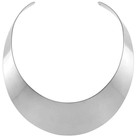 Silver Olivia  Collar Necklace (TF) - ebrook lael