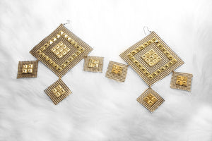 Rhombus earrings - ebrook lael