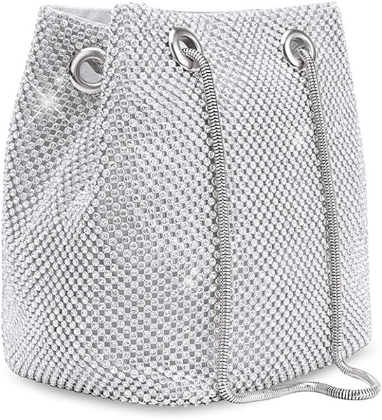 Crossbody Bag Glam Silver -MD