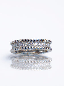 ANNA Silver eternity band (TF) - ebrook lael
