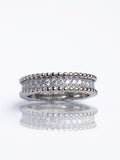 ANNA Silver eternity band Tarnish Free - ebrook lael