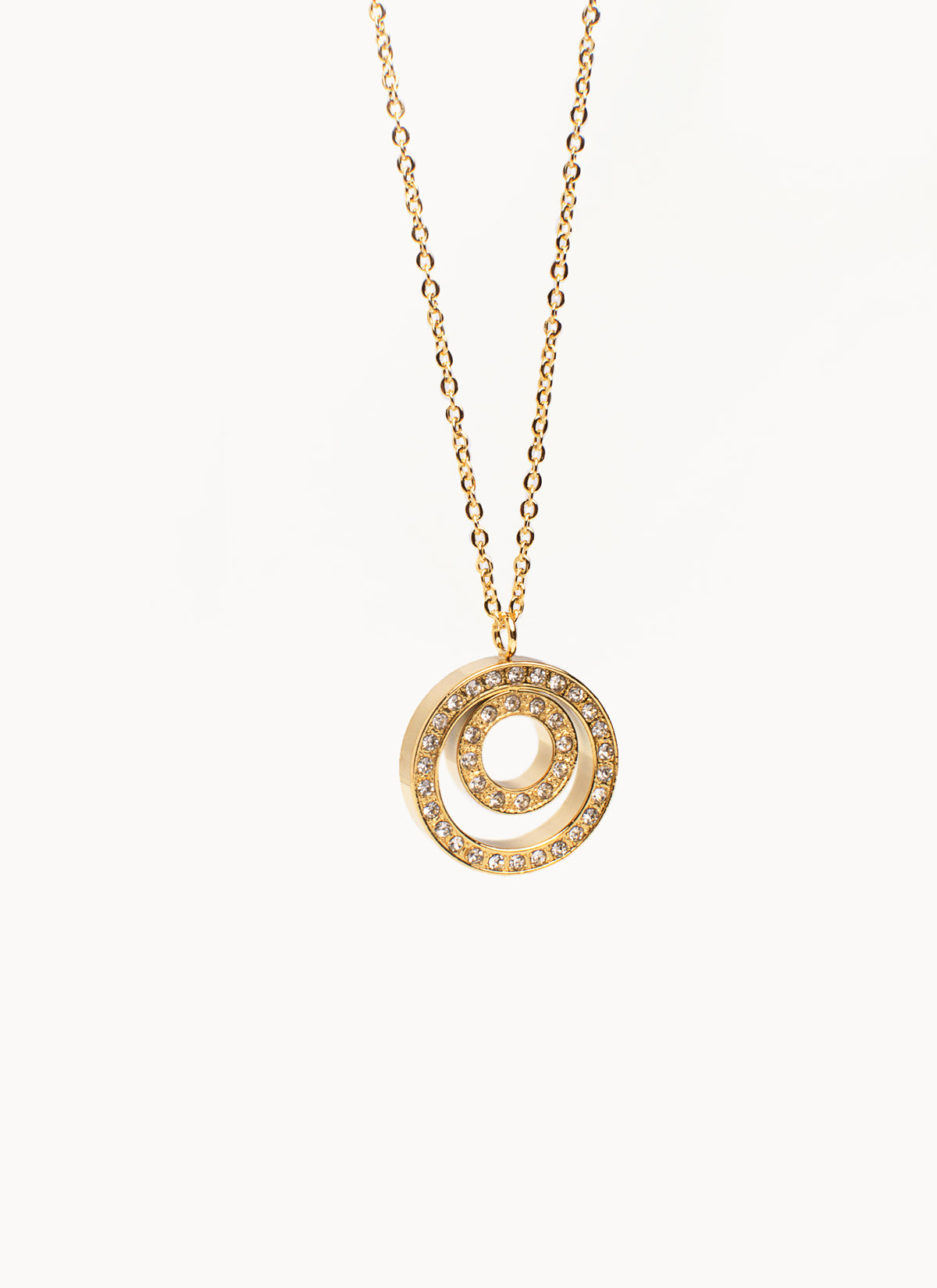 Circle Pendant GOLD (TF) - ebrook lael