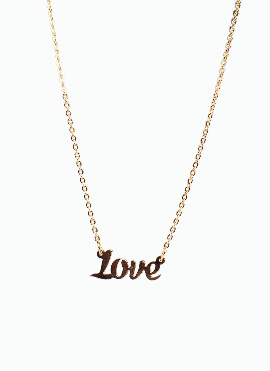I AM-LOVE necklace TARNISH FREE - ebrook lael