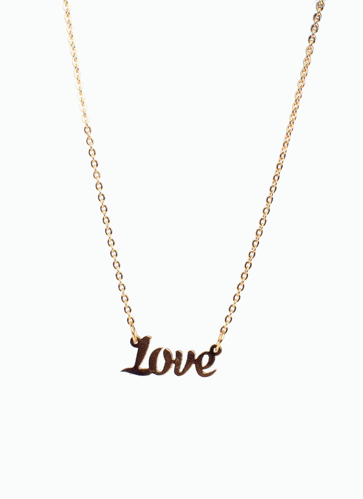 I AM-LOVE necklace (TF) - ebrook lael