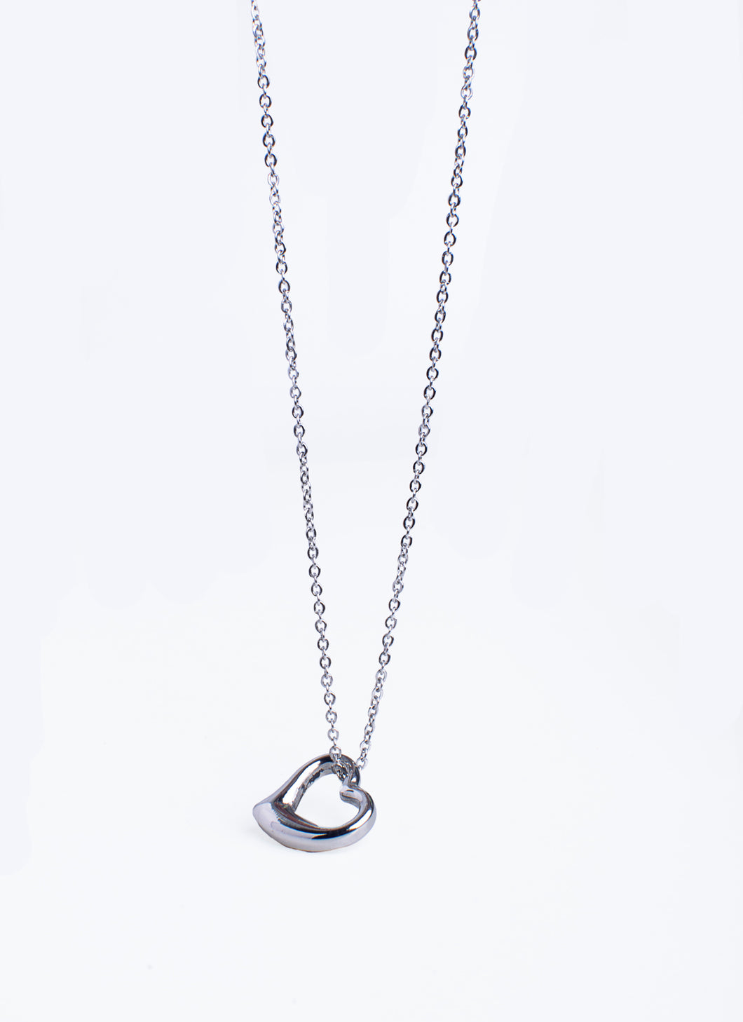SIDE HEART Necklace (TF) - ebrooklael