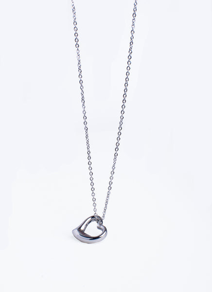 SIDE HEART Necklace (TF) - ebrook lael