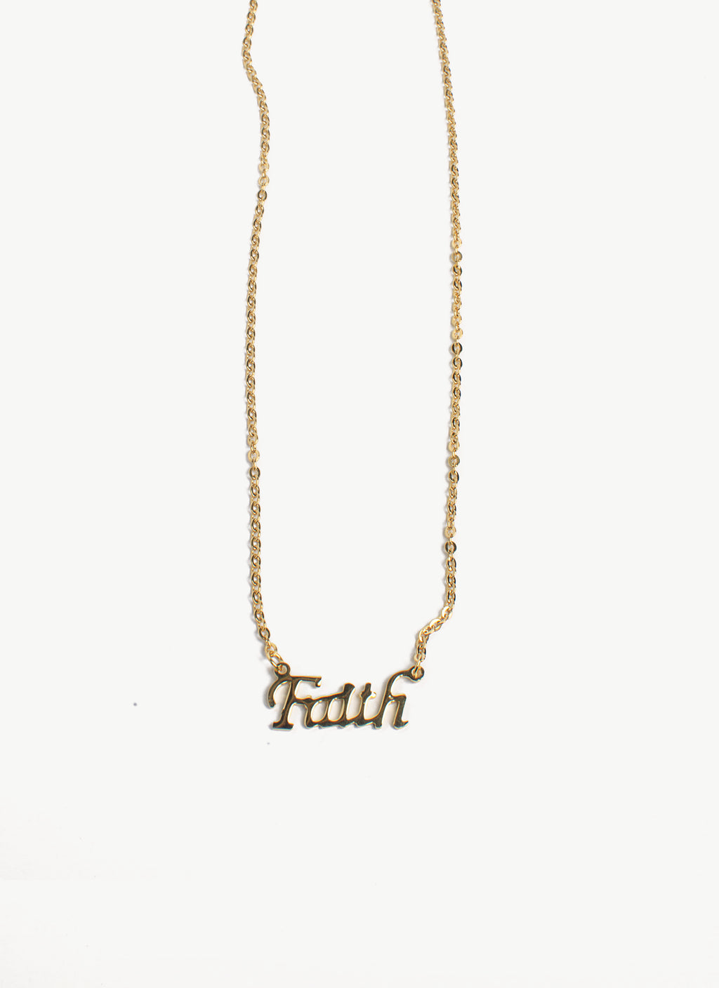LAH-FAITH necklace TARNISH FREE - ebrook lael