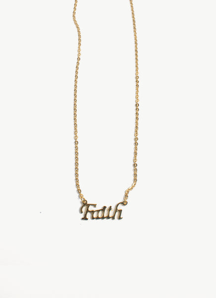 LAH-FAITH necklace (TF) - ebrook lael