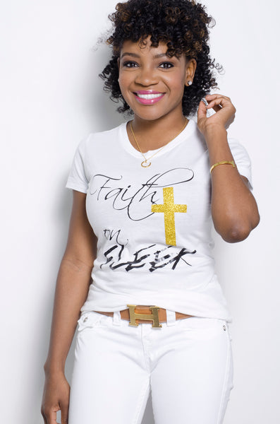FAITH ON FLEEK (white) - ebrook lael