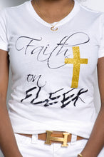 Load image into Gallery viewer, FAITH ON FLEEK (white) - ebrooklael