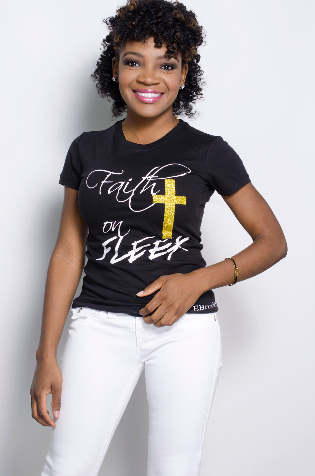 FAITH ON FLEEK (black) - ebrook lael