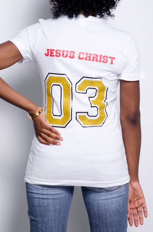 """Team Jesus  "" WOMEN shirt - ebrook lael"