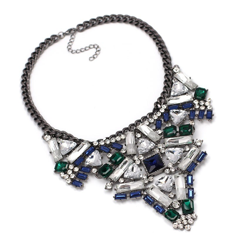 ABELLA Cluster  statement necklace - ebrook lael