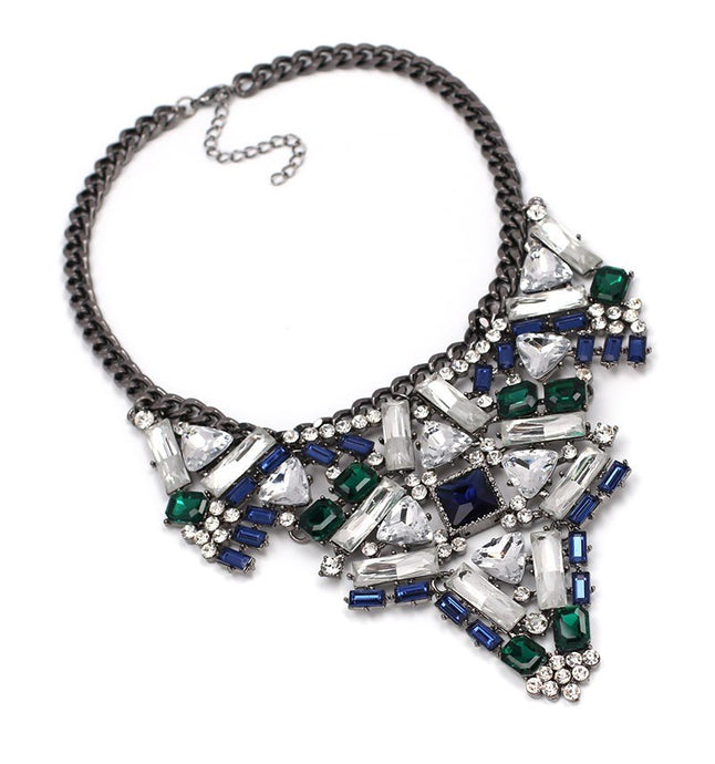 ABELLA Cluster  statement necklace (N-TF) - ebrook lael