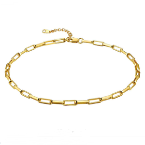 Luxe Pap chocker Necklace 18k (TF) - ebrook lael