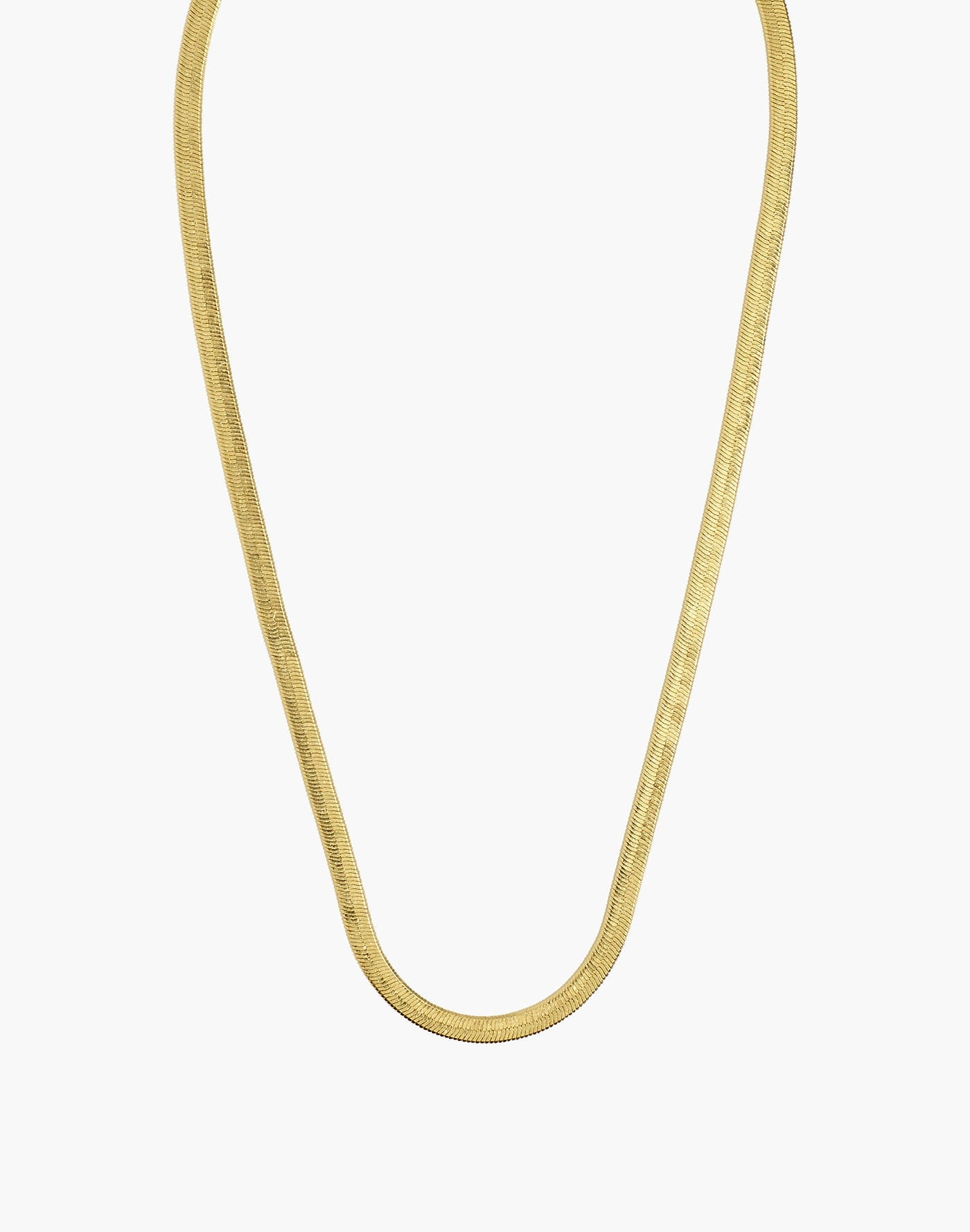 Herringbone Chain Necklace (Unisex-TF) - ebrook lael