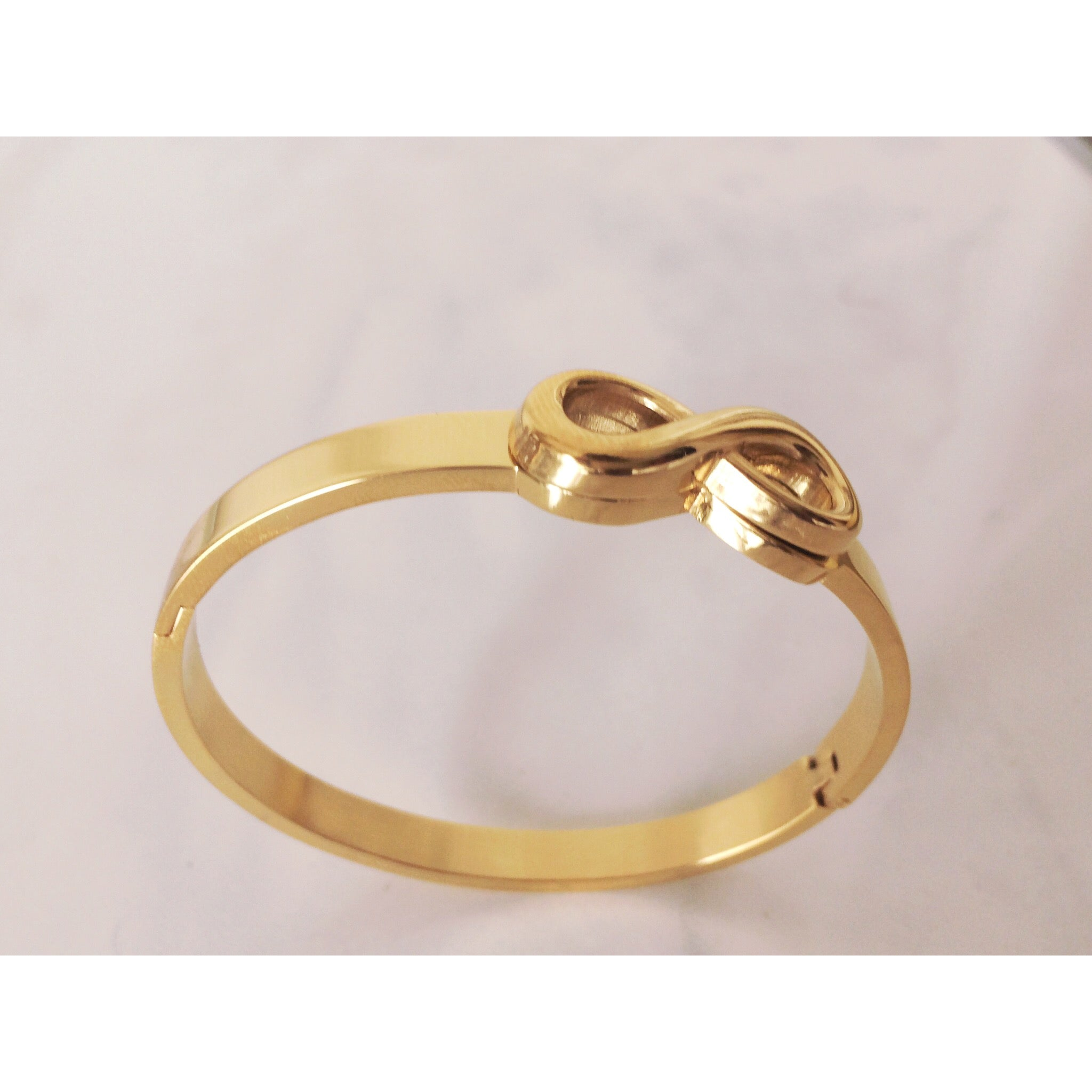 ALEX INFINITY BANGLE TARNISH FREE - ebrook lael