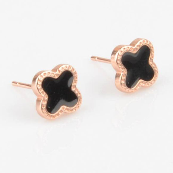 Clover stud earrings (TF) - ebrook lael