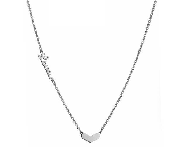 Love you pendent necklace (TF) - ebrook lael