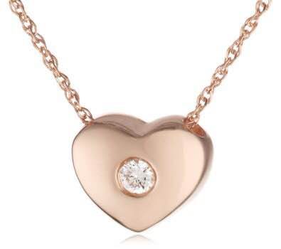 Elsa love heart TARNISH FREE - ebrook lael