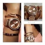 set-Rose gold Love - ebrook lael