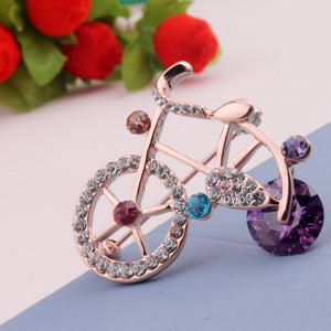 Bicycle Brooch - ebrooklael