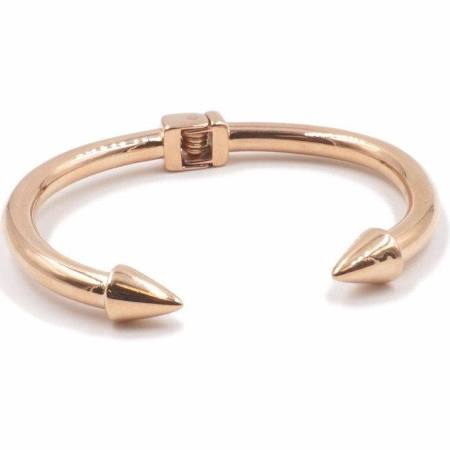 Open spike bangle Rose gold (TF) - ebrook lael