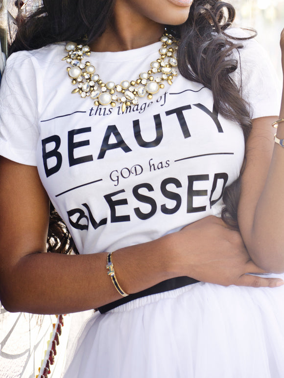 Image of beauty graphic tee - ebrook lael